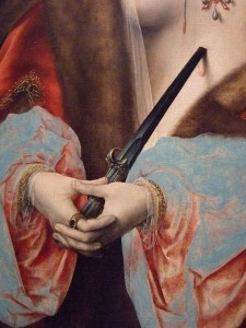 Detail from Lucretia