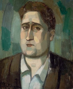 Guillaume Apollinaire by Metzinger 1910