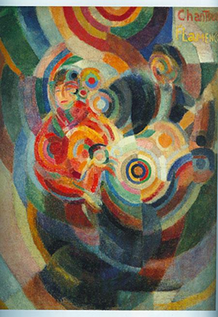 Flamenco-singer-Sonia Delaunay-1916
