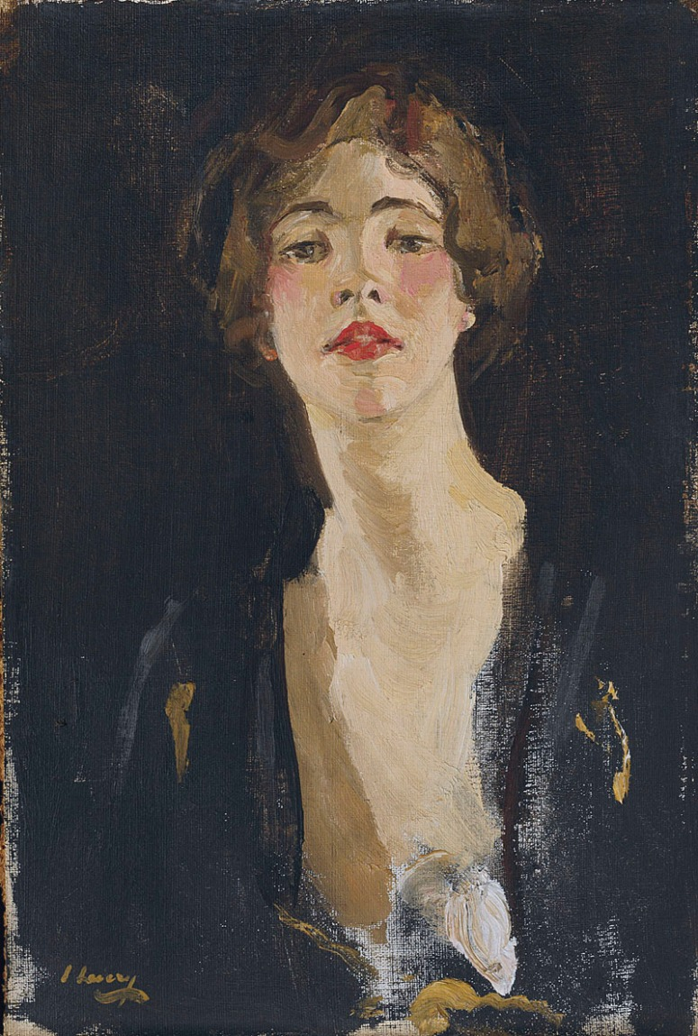Portrait of Violet Trefussis by Sir John Lavery 1919