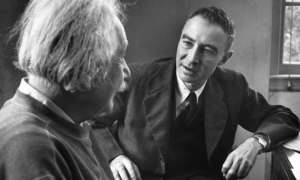 In conversation with Einstein at Princeton