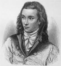 """The poet Novalis -about whom """"The Blue Flower"""" is concerned"""