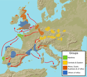 Spread of the Beaker Culture