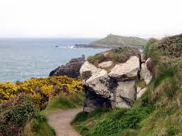 The walk past Man'Head to Clodgy, St Ives