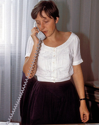 Merkel in the DDR