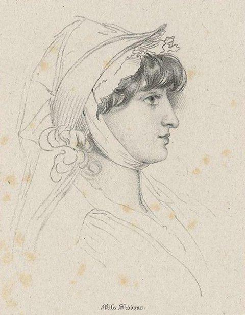 Sarah Siddons by J. Dickinson