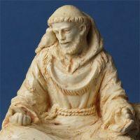 St Francis Meditating