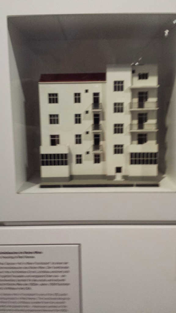 Flats as diplayed in the Jewish Museum in Vienna