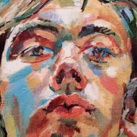 Self-portrait by Vaughan Warren