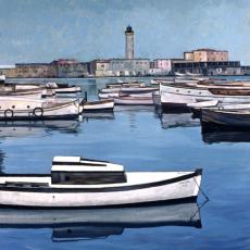 Weiße Boote, 1956