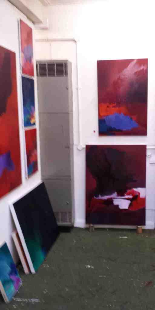 Kathryn Stevens's studio