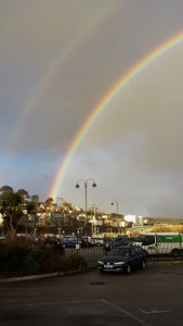 Rainbows at the Bus Station