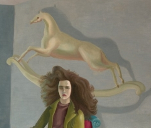 From Leonora Carrington's Self-portrait (c.1937-8)