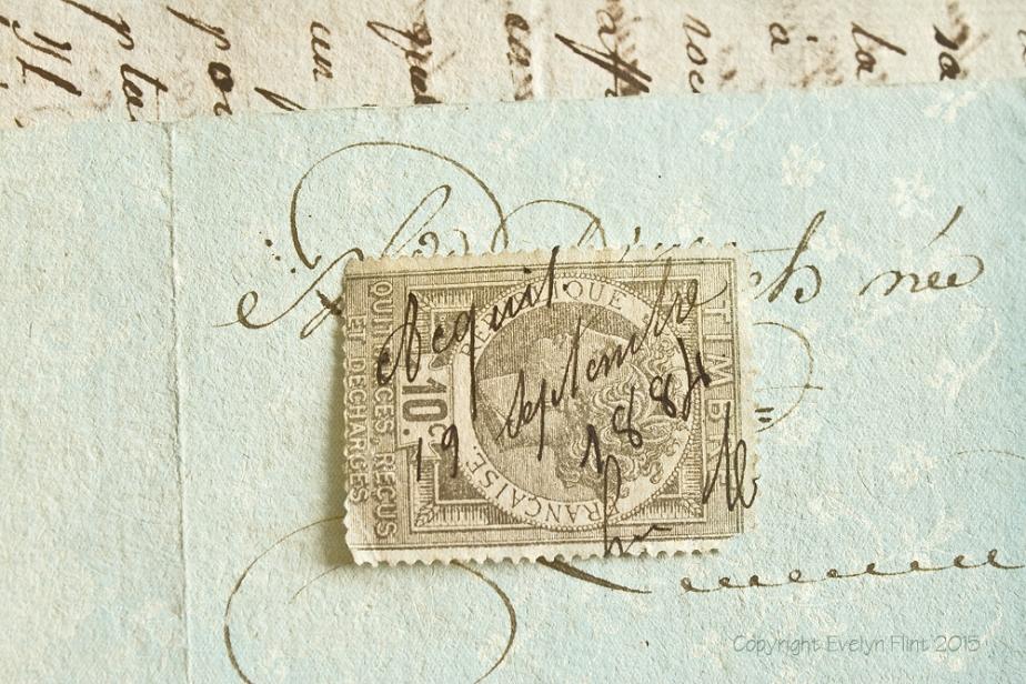Vintage Paper & Stamp - RN
