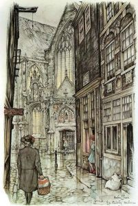 Anton Pieck (1895-1987) was a Dutch painter and graphic artist