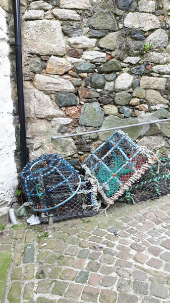 Crab pots -Downalong, St Ives
