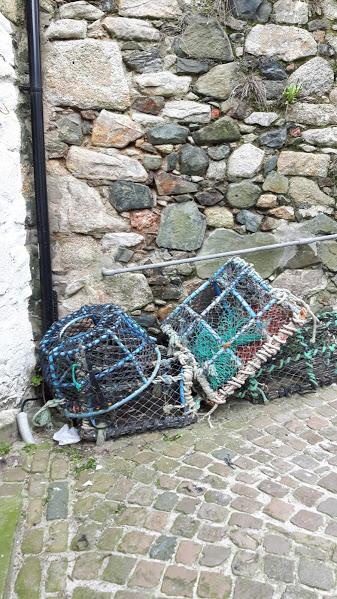 Crab pots -Downalong, St Ives