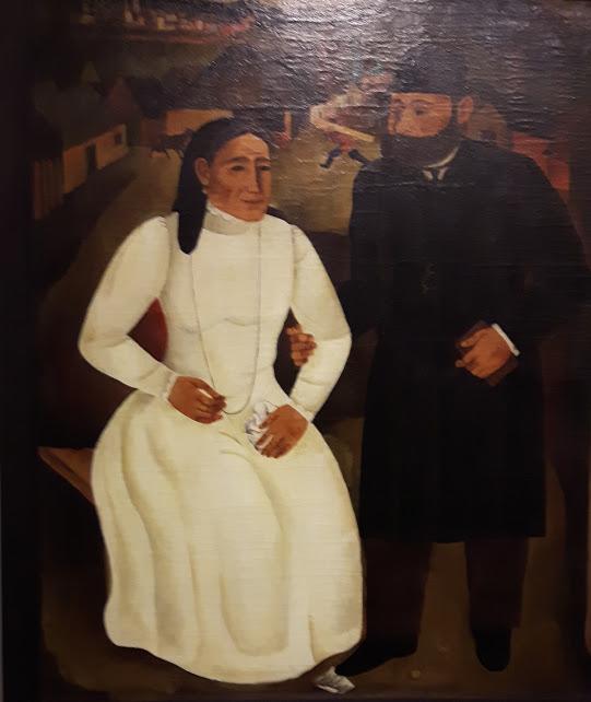 Issai Kulvianski Meine Eltern 1 1925 Berlimische Galerie