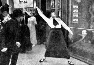 Aste Nielsen- Die Suffragette (1913)