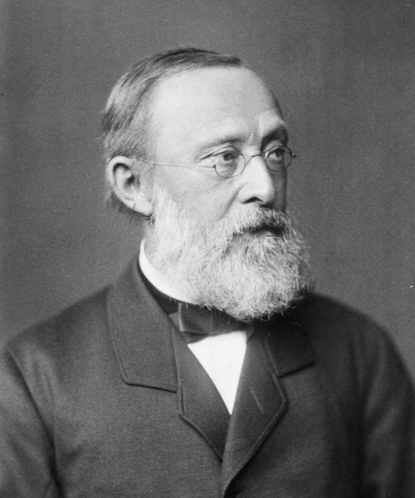 Portrait of Rudolf Virchow, 1885 (author unknown).