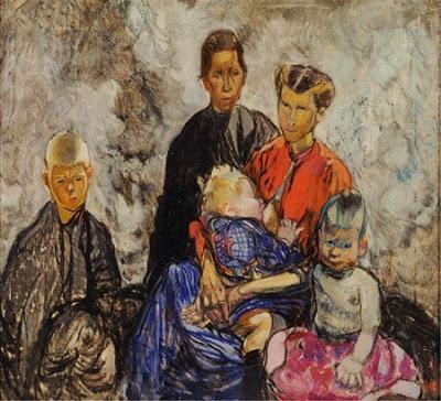 1916-frances-hodgkins-new-zealand-artist-1869-1947-refugiers-belges-1916