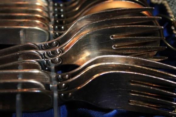 Silberbesteck im Kasten (c) Foto von Susanne Haun