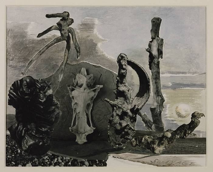 Swanage circa 1936 by Paul Nash 1889-1946