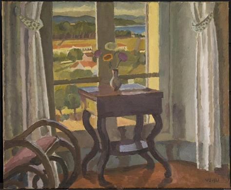 Interior with a Table 1921 by Vanessa Bell 1879-1961