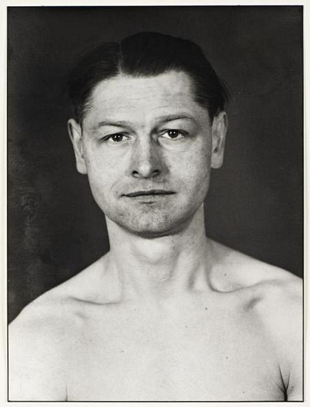 Political Prisoner 1943, printed 1990 by August Sander 1876-1964
