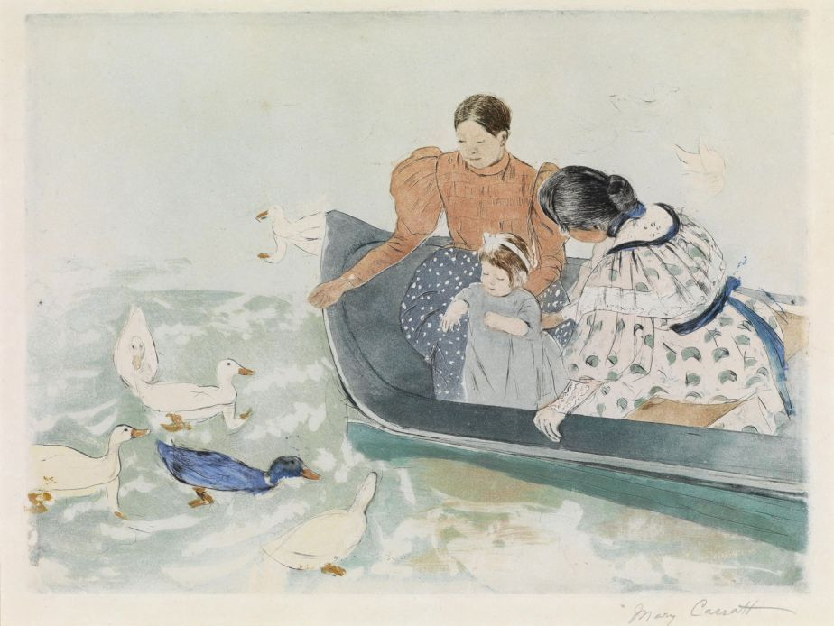 Degas' Circle: Mary Cassatt, 3 Prints perfected