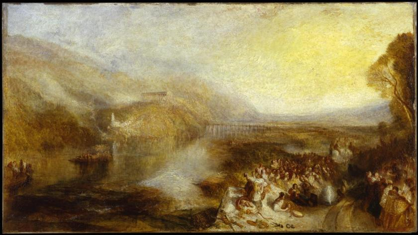 The Opening of the Wallhalla, 1842 exhibited 1843 by Joseph Mallord William Turner 1775-1851