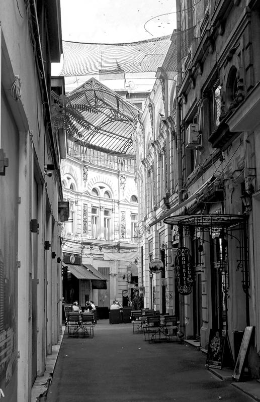 Gasse in Bukarest