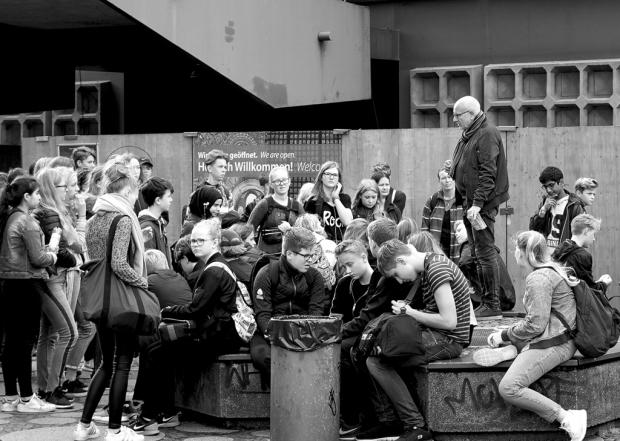 Straßenfotografie Berlin