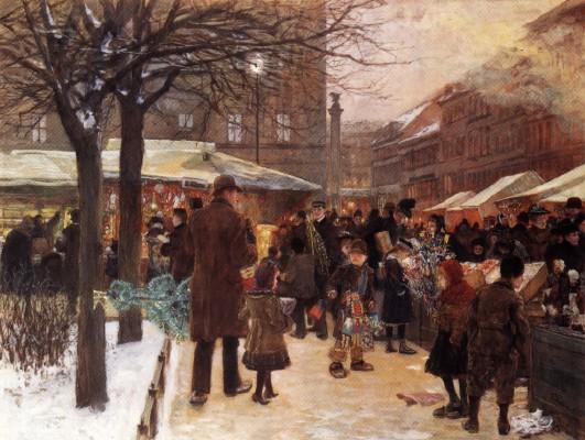 BERLIN BRUSHES: FRANZ SKARBINA'S CHRISTMASMARKET