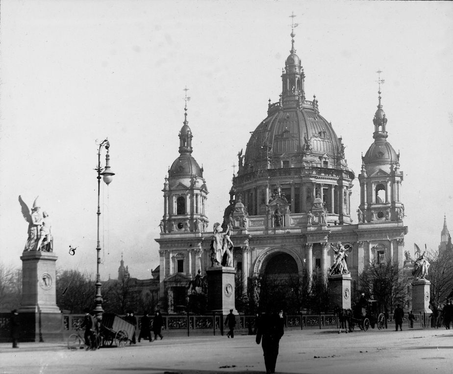 berliner dom circa 1905