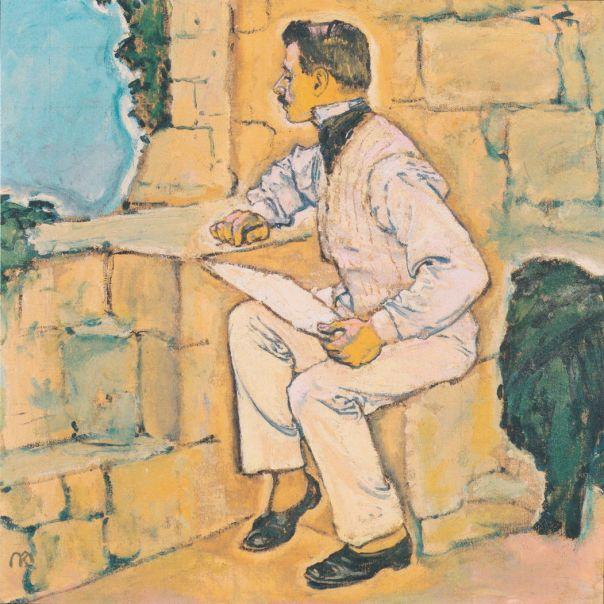 moserselfportrait1914