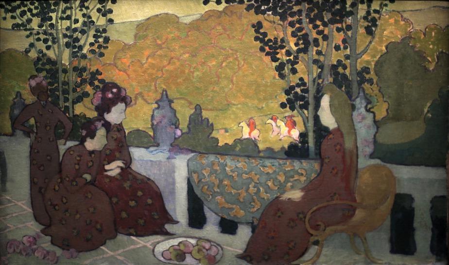 Maurice Denis: September Evening(1891)