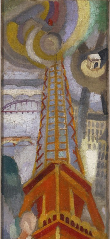 Robert Delaunay: Eiffel Tower (c.1925)