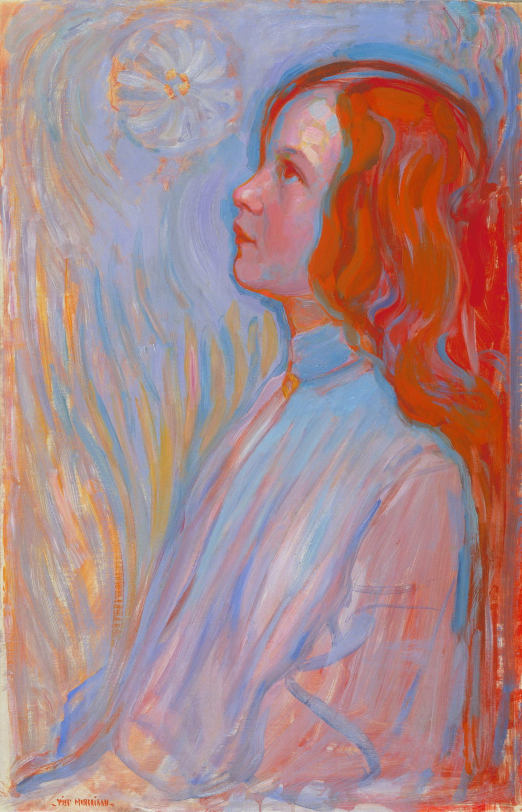 Devotion, by Piet Mondriaan