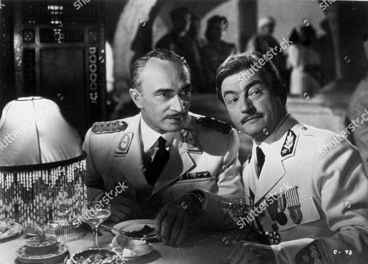 Conrad Veidt & Claude Rains in Casablanca
